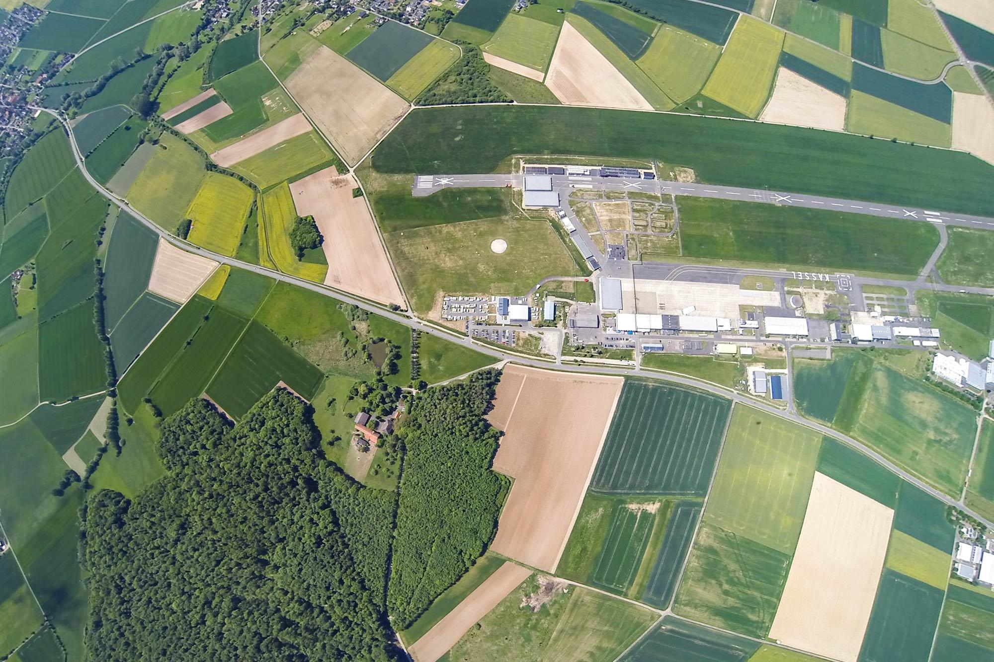 Luftbild Kassel/Calden