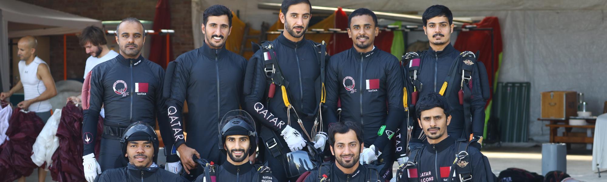 Qatar Falcons (Gastteam)