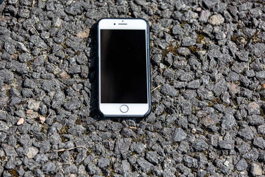 Weißes iPhone gefunden